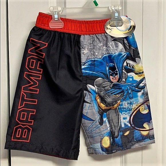 7f8976a93fdd9 DC Comics Swim | Batman Trunks Size 5 6 New | Poshmark